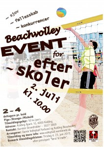 Efterskole Beachvolleyevent 2015